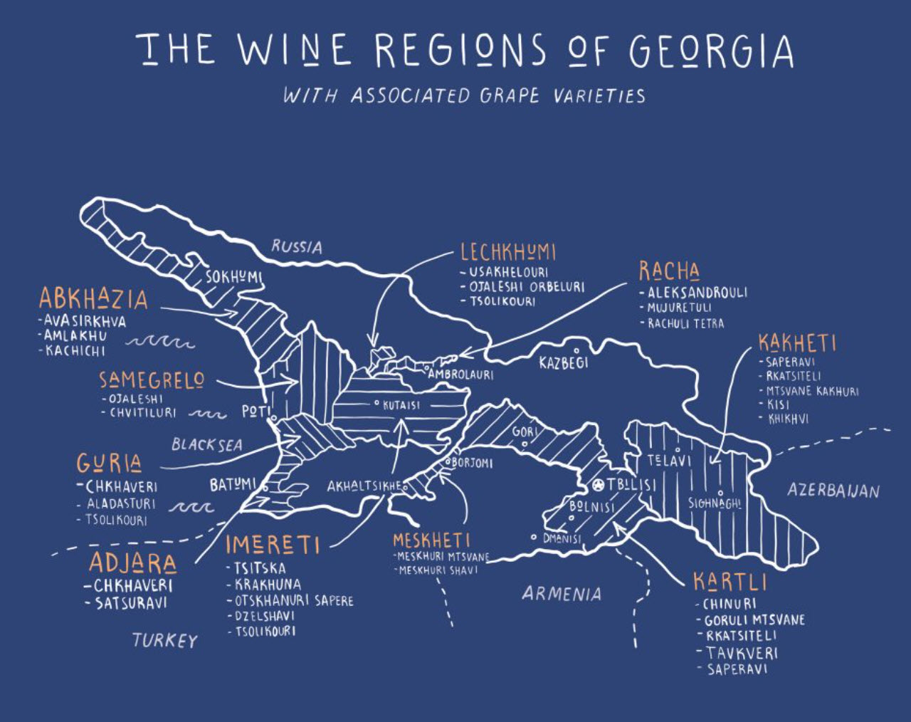 OWC Exclusive : Georgian wine history and its wine culture